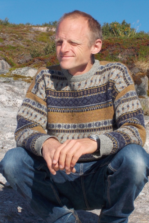 [Tobias on the shores of northern Norway]
